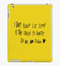isak og even, even og isak iPad Case/Skin