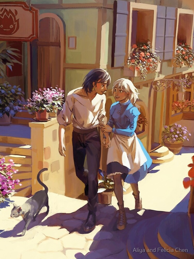 Howl's Moving Castle by doublechen