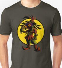 Camiseta ajustada Zelda Majoras Mask Skull Kid