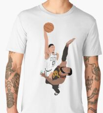 Jayson Tatum Dunk on LeBron James Men's Premium T-Shirt
