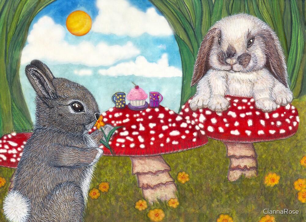 Bunny Breakfast by CiannaRose