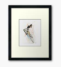 Drift Contemporary Dance Framed Print