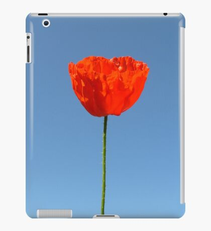 Poppy in the Sky iPad Case/Skin