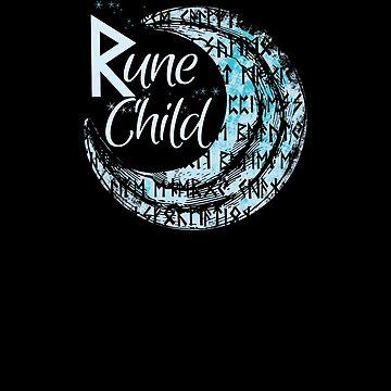 Rune Child Moon by 2catminimum