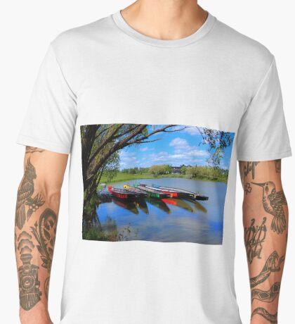 Drag Boats Men's Premium T-Shirt