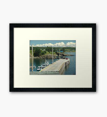 Scott's Bay Framed Print