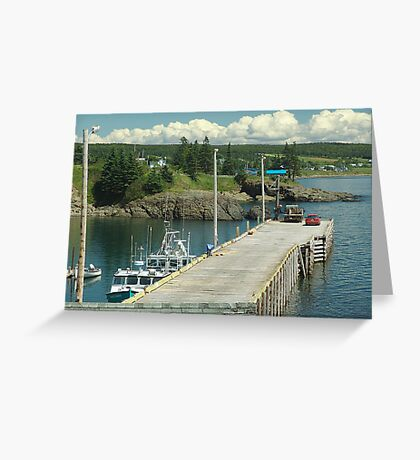 Scott's Bay Greeting Card