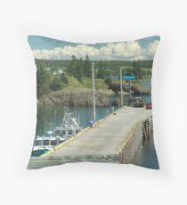 Scott's Bay Throw Pillow