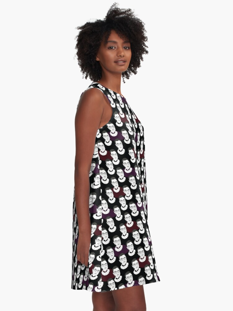 Alternate view of Ruth Bader Ginsburg Pattern A-Line Dress