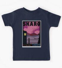 SKARO QUICKER BY TARDIS Kids Tee