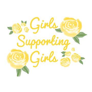niñas que apoyan a niñas de swerth1217