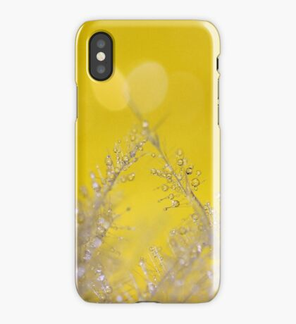 Yellow Sparkles iPhone Case