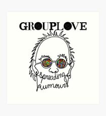 Grouplove Spreading Rumours Art Print