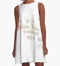 Be the Kara Thrace of Whatever You Do A-Line Dress