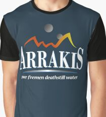 Arrakis Water Company (Dune) Graphic T-Shirt