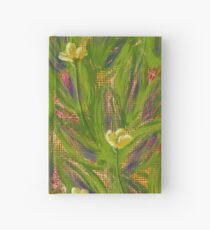 Dot matrix daffodils Hardcover Journal