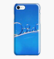 Blue Bubbles iPhone Case/Skin
