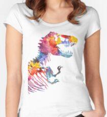 Funkosaurus Rex Women's Fitted Scoop T-Shirt