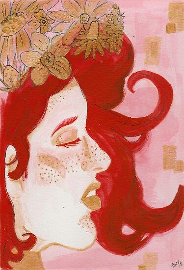 Gold Goddess by missamylee