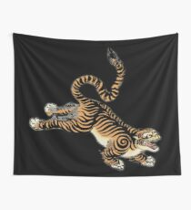 Chinesischer Tiger Wandbehang