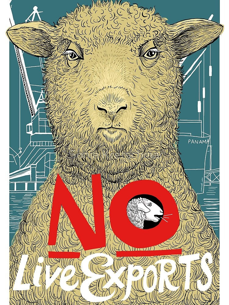 No to Live Export by Sonia Kretschmar