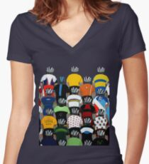 Maillots 2015 Shirt Women's Fitted V-Neck T-Shirt