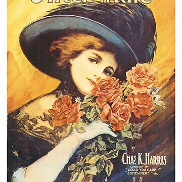 Vintage Sheet Music Songbook Cover After While 1920's by AllVintageArt