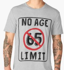 No Age Limit 65th Birthday Gifts Funny B Day For 65 Year Old Mens Premium