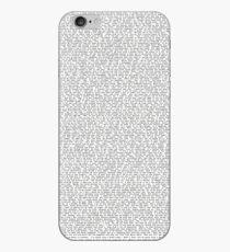 John Mulaney: Kid Gorgeous Script iPhone Case