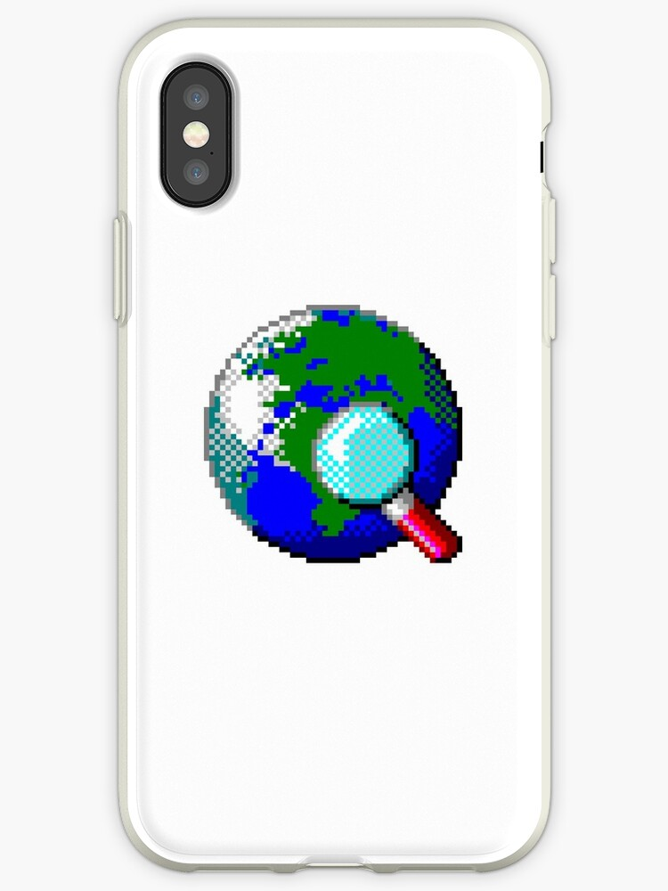 'Vintage Internet Explorer Globe Icon, 1995' iPhone Case by Traut