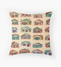 Californian Bungalows (on sandstone) Throw Pillow