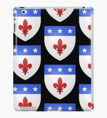 French France Coat of Arms 1477 Blason de la ville de Beaulieu lès Loches  iPad Case/Skin