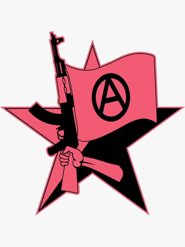 Das Logo der Queer Insurrection und der Befreiungsarmee von dru1138