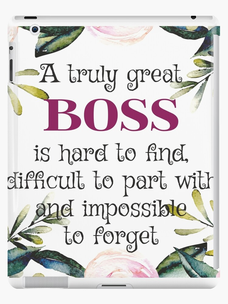 6e139d56f67 A truly great boss is hard to find / Boss Quote / Boss Gifts / Office  Quotes / Office prints