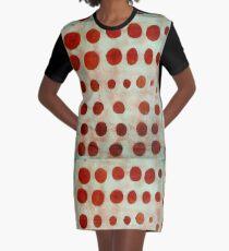 red spots Graphic T-Shirt Dress