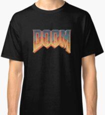 Doom - RETRO LOGO - Classic T-Shirt