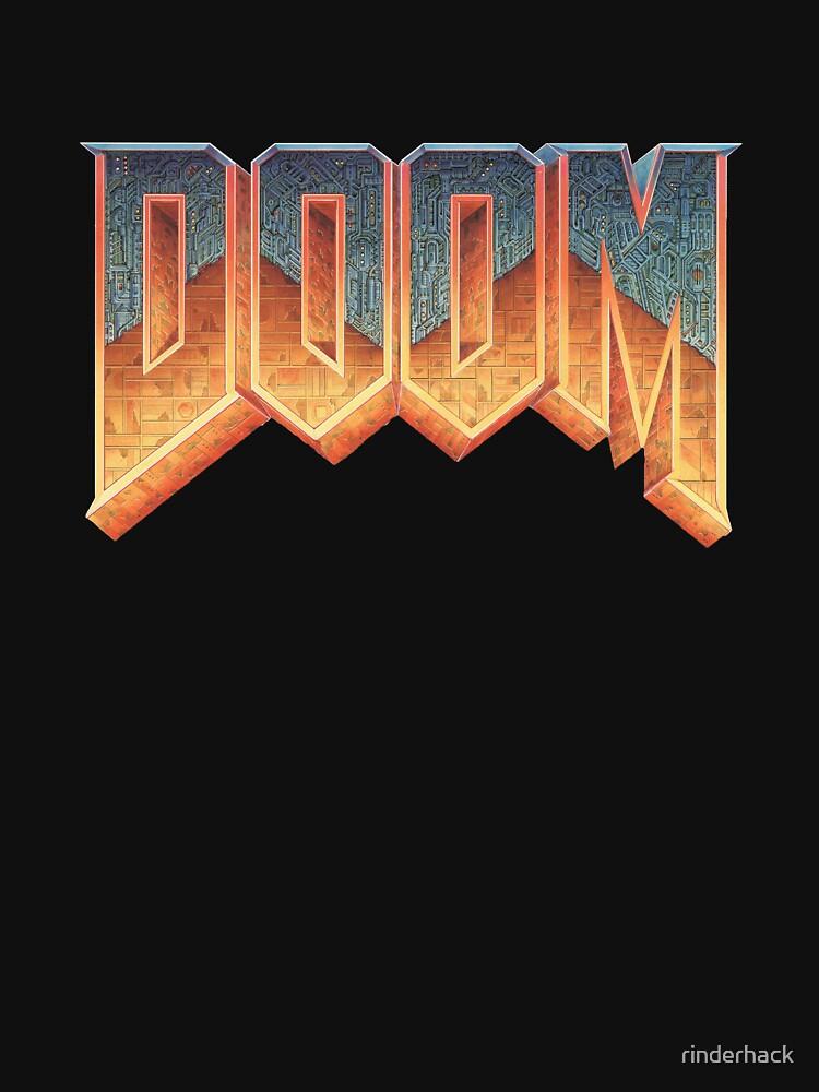 Doom - RETRO LOGO - by rinderhack