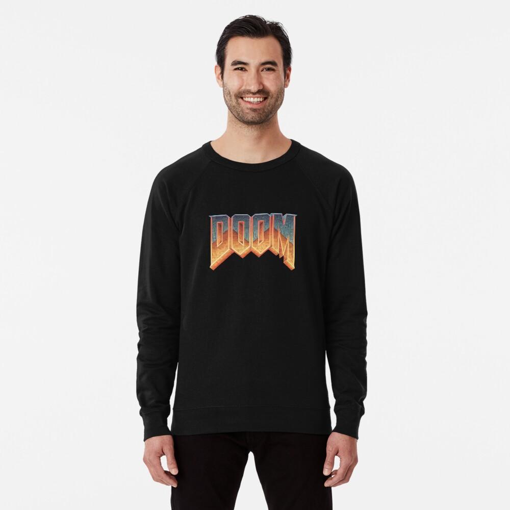 Doom - RETRO LOGO - Lightweight Sweatshirt