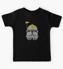 Clone's Helmet in SW Kids T-Shirt