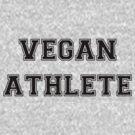 Vegan Athlete (black) by Leif Prime