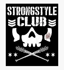 strong style club Photographic Print