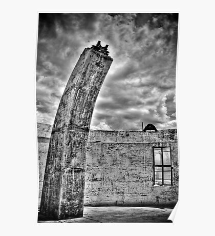 Mount Stromlo Ruins Poster