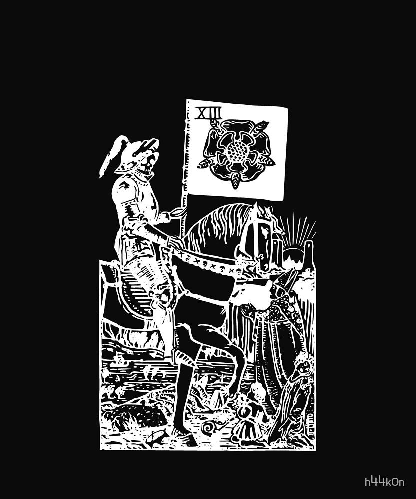 Magick Tarot Mystic Occult Death Tarot Card XIII Esoteric Dark