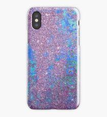 Pastel glitter iPhone Case