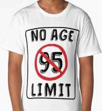 No Age Limit 95th Birthday Gifts Funny B Day For 95 Year Old Long T