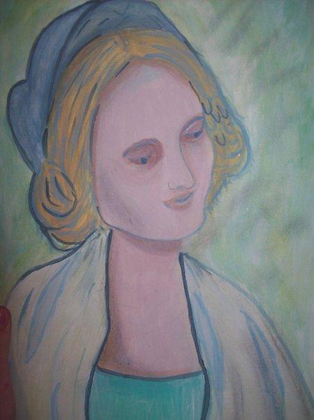 Virgin Mary of the Rocks by Elizabeth McMullen