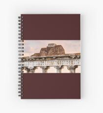 Temple of Saturn Pediment and Capitals Spiral Notebook