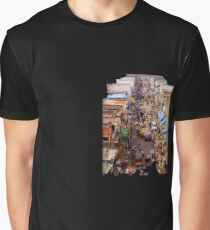 Busy market street Graphic T-Shirt