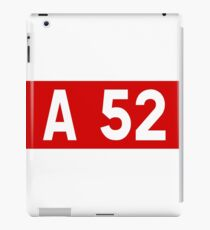 French motorway A52 iPad Case/Skin