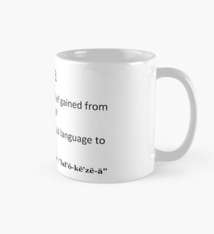 Lalochezia Mug